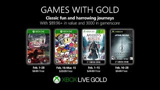 Xbox Games With Gold February 2019 Update   Decent Month?