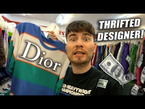 DESIGNER IN THE THRIFT STORE! Trip to the Thrift #274