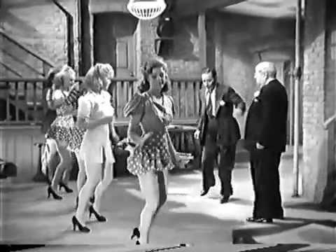 George Raft rehearses Sweet Georgia Brown in Broadway (1942)