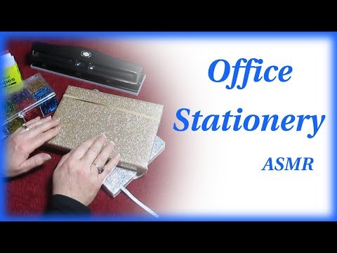 My Office Stationery Show & Tell ASMR Soft Spoken