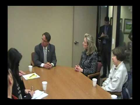 Gary Peters Unemployment forum with local unemployed people Part 2