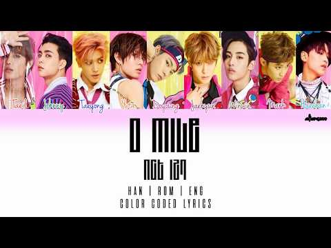 NCT 127 – 0 MILE (Color Coded Han|Rom|Eng Lyrics)