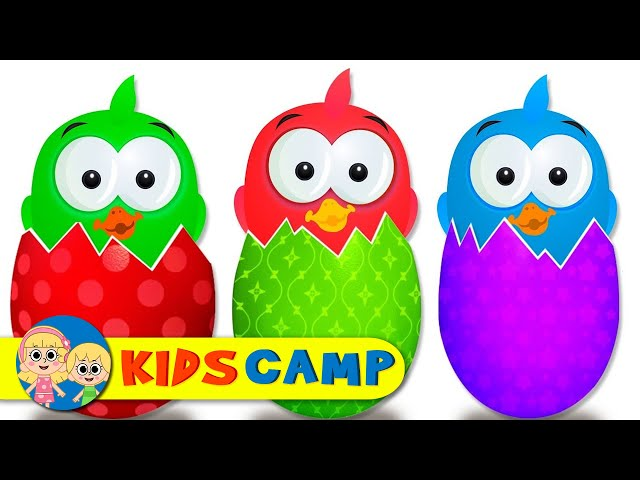Learn Colors With Ducks For Kids #z | Colors With Animals for Children Education | Cartoon For Kids
