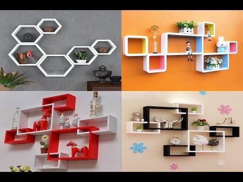 Wall shelves design for bedroom & Living room(AS Royal Decor)