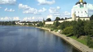 Псков.Ольгинский мост(, 2015-03-07T19:23:43.000Z)