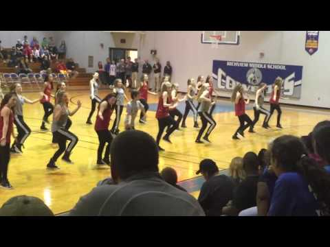 Rossview & Richview Middle School Basketball Halftime Dance