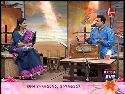 Shurjo Bhattacharya Sings Hindi Manna Dey Gems Live in Aakash Aath on 02.03.2014 Part-2..