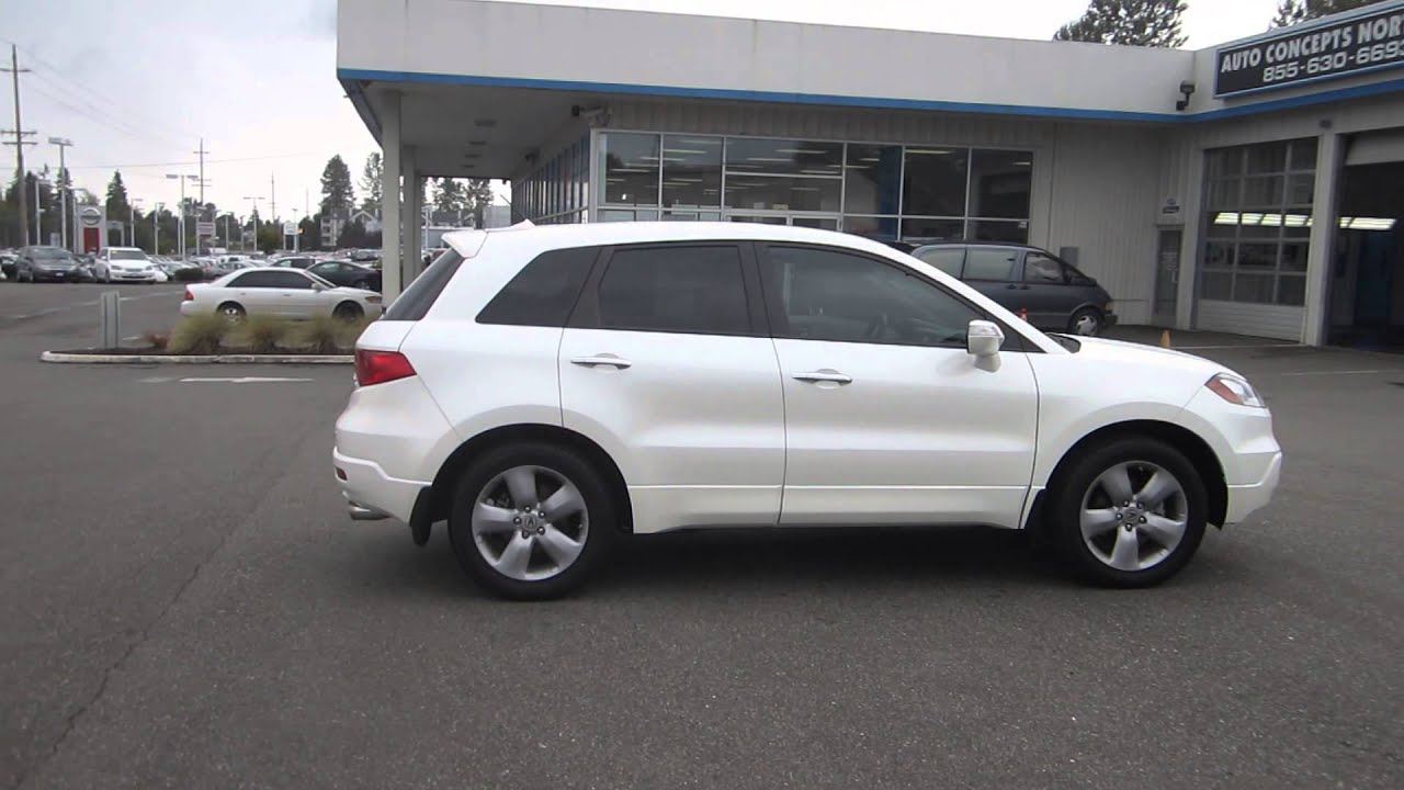 2008 acura rdx white stock 12664p walk around youtube rh youtube com 2008 Acura RDX Wiper Module 2008 Acura RDX Gas Mileage
