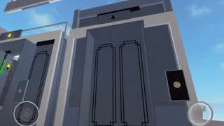 Kone monospace MRL elevator at generic showcase - roblox