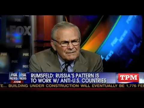 Donald Rumsfeld: Russia Has 'Muslim Problems'