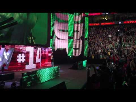 WWE ROYAL RUMBLE 2015- DDP RETURNS