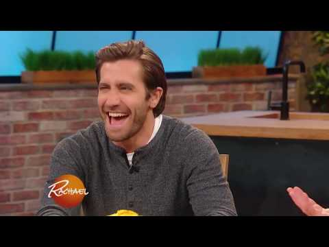 Jake Gyllenhaal Visits For the First Time, And Raves About Rach's Green Room Food  Rachael Ray