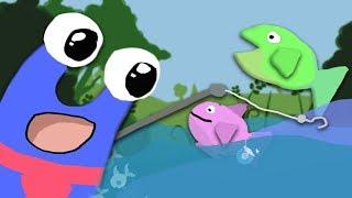 Ich geh angeln    #01 「Cat Goes Fishing」