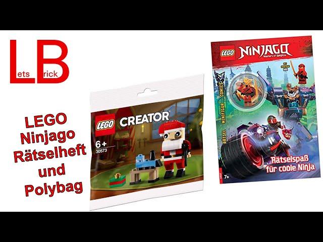 LEGO® Ninjago Rätselheft und Creator Polybag - Urlaubsgrüße - Ersatzvideo