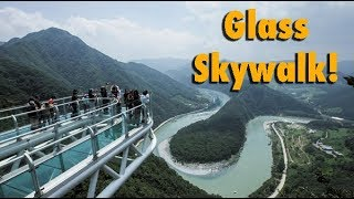 HUGE DROP GLASS SKYWALK -SOUTH KOREA (Pyeongchang 2018 Winter Olympics)