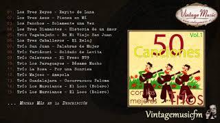 50 Canciones con los Mejores Tríos, Boleros (Full Album/Álbum Completo) Vol. 1