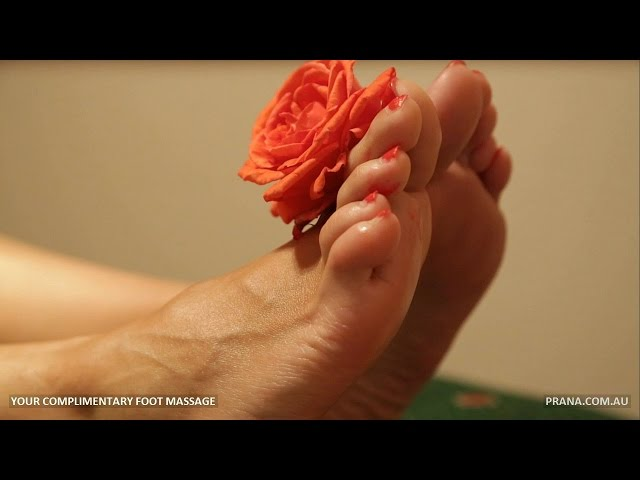 Complimentary Foot Massage at Prana in Applecross, Perth