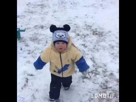 Зимние забавы в деревне