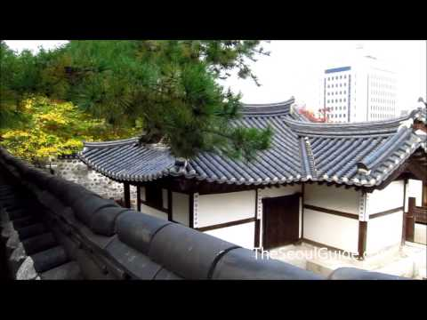 Namsangol Hanok Village in Seoul, South Korea