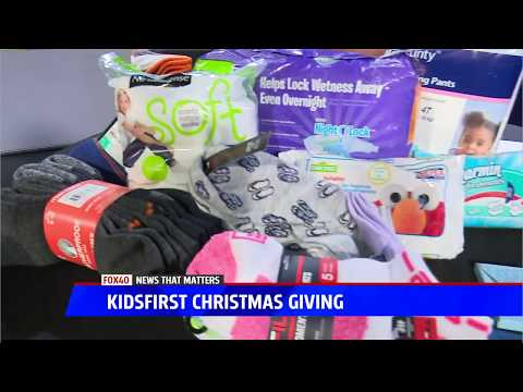 KidsFirst Celebrates Christmas Giving All Year Long