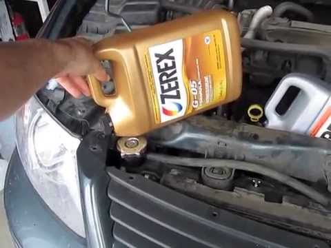 Antifreeze Coolant Radiator Fluid For A Dodge Grand