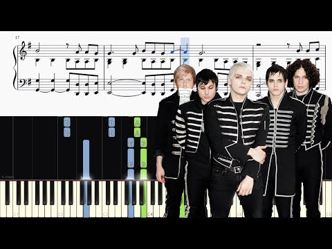 My Chemical Romance - Fake Your Death - Piano Tutorial + SHEETS