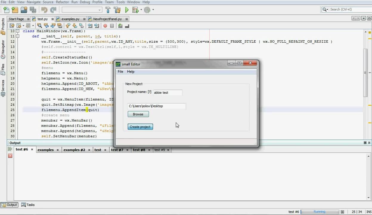 Zend framework command line tool UI