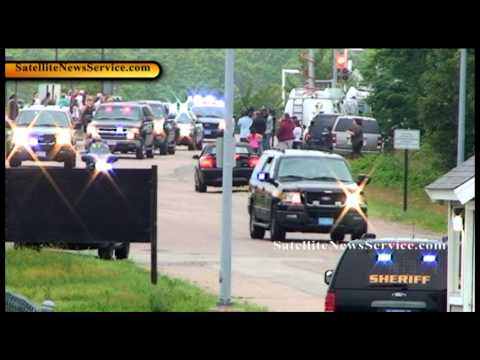 Whitey Bulger Arrives at Plymouth, MA Correctional Facility (06-24-11)