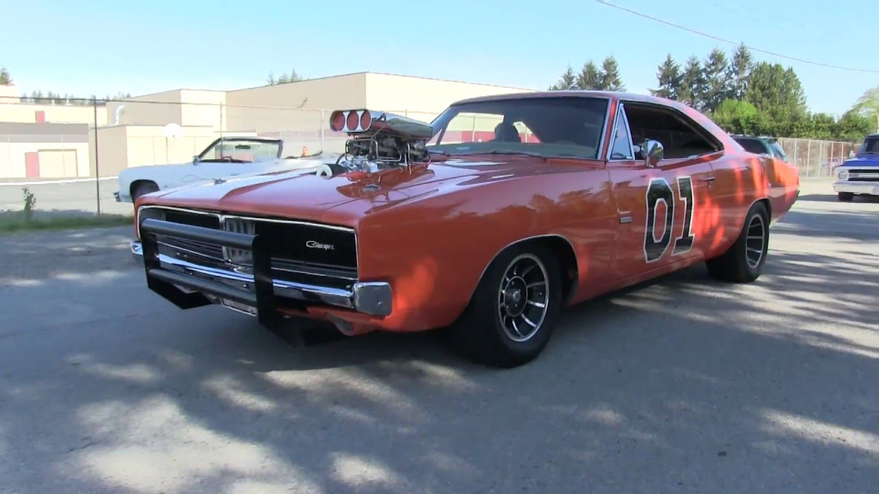 Sound Of Dodge Charger 1970 General Lee The Best Of Big Muscle Cars