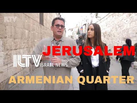 Explore The Armenian Quarter In Jerusalem!