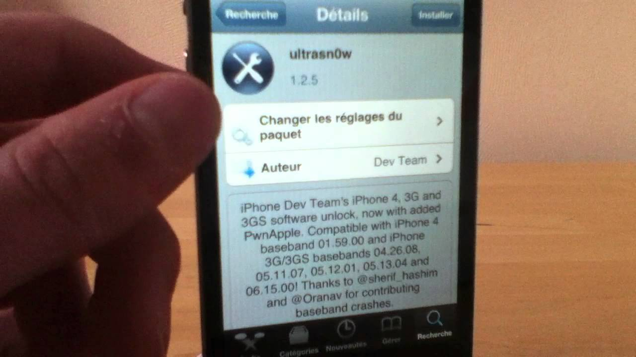 ultrasnow pour iphone 3g