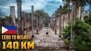 FOUND EPIC FILIPINO JUNGLE RUINS (Emotional Road Trip..)