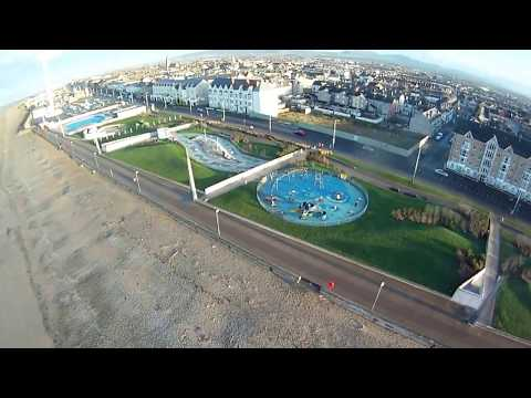 Rhyl front and the Beach - A mud encrusted Gem