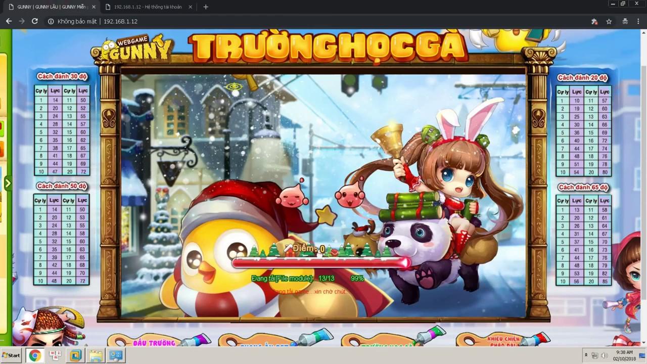 Web Game Gunny Offline 8.5 Việt Hoá Free Download