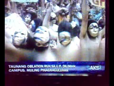 Alpha Phi Omega Oblation Run