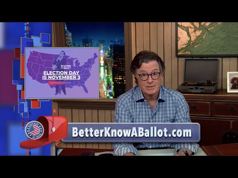 Better Know A Ballot: Stephen Colbert's State-By-State Guide To Voting In The 2020 Election