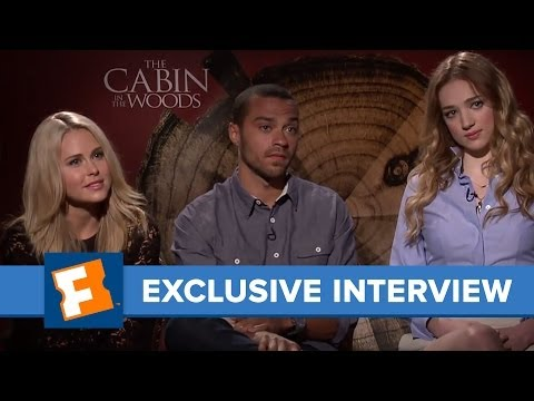 The Cabin In The Woods  Anna Hutchison and Kristen Connolly   SXSW  dangoMovies