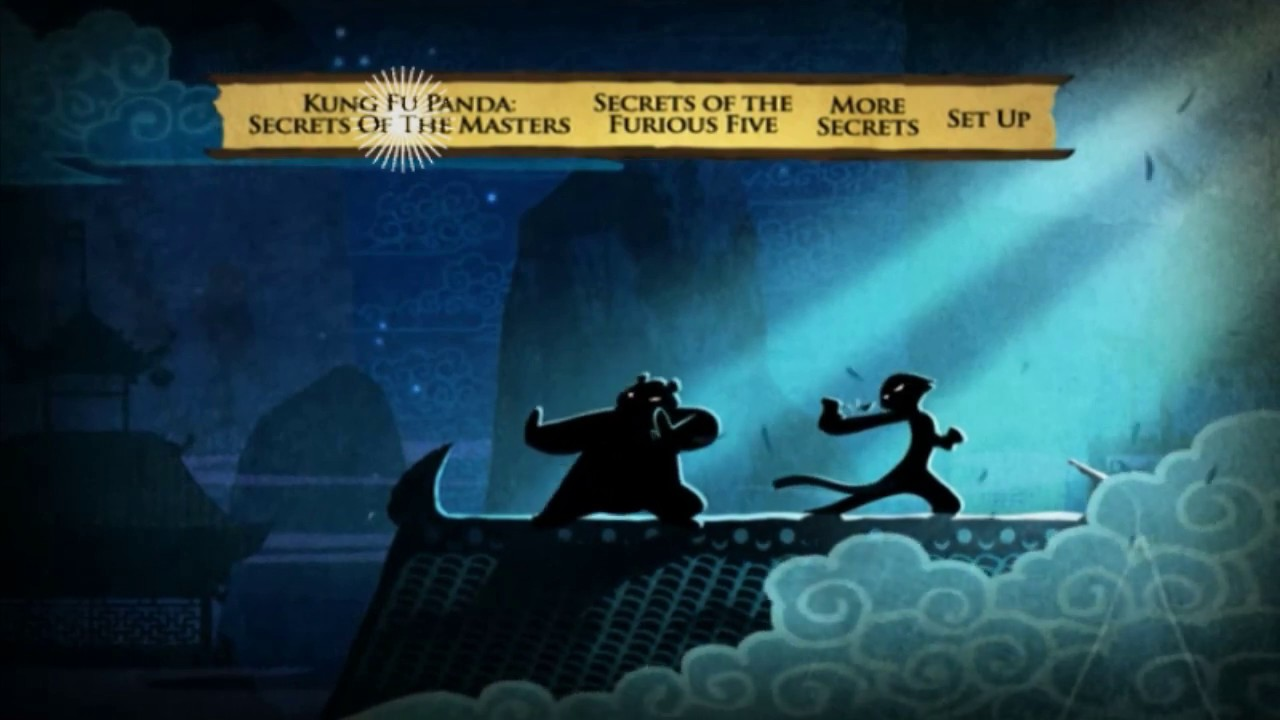 Download DVD MENU Walkthrough Kung Fu Panda Secrets of the Masters