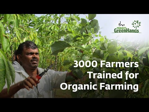 3000 Farmers Trained for Organic Farming | Trees for All | Project GreenHands