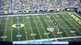 Oregon highlights vs Washington State 10/29/2011