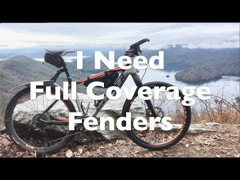 I Need Full Coverage Fenders For My Mountain/Gravel Bike