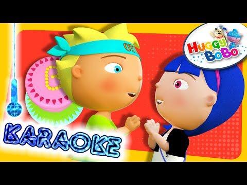 Pat A Cake | Karaoke Version | Nursery Rhymes | By HuggyBoBo