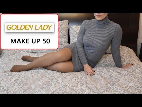 GOLDEN LADY MAKE UP 50 DEN PANTYHOSE