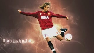 Batistuta Best Power Shots ||HD||