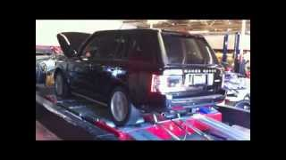 2010 Range Rover HSE 5.0L Supercharged: ECU Tune Dyno Results
