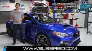 SubiSpeed - Subaru OEM Rain Guard and Wind Deflector Install DIY