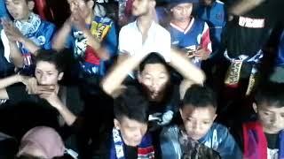 Arema Slamanya Syalala Ooo Arema (AREMA F.C VS PSBK)