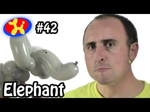Balloon Elephant - Balloon Animal Lessons #42