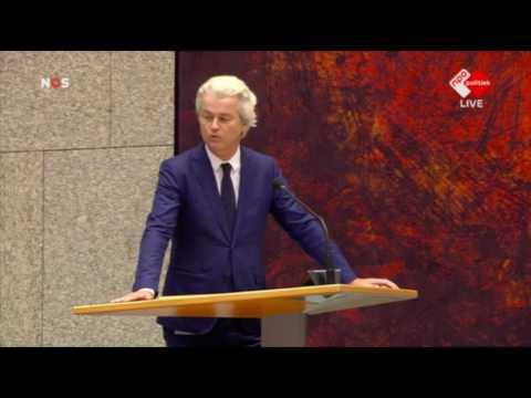 Inbreng Geert Wilders over het eindverslag van de informateur