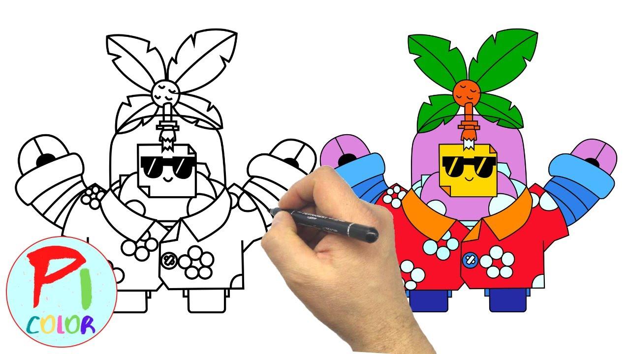 Рисуем Тропический спраут - БРАВЛ СТАРС - How to draw ...